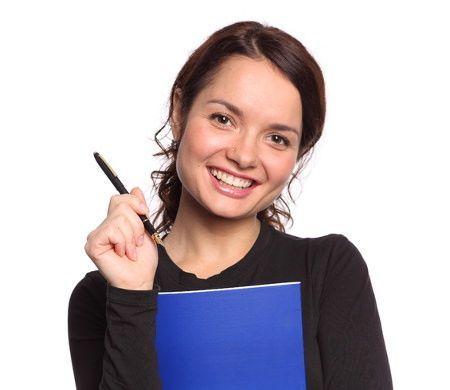 Mujer estudiante